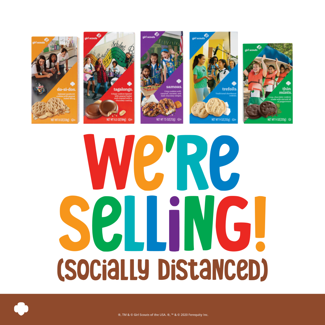Cookie Season Socially Distant Selling